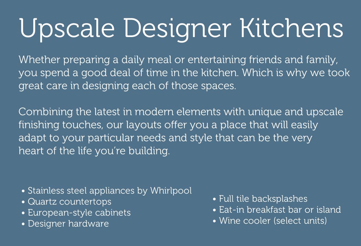 OALUX high-end designer kitchens